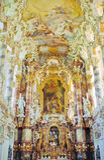 巴法力亚教会 库存图片