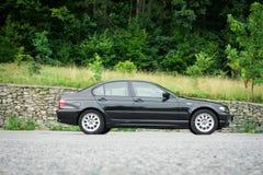 巴法力亚美丽的历史的车的黑金属paing和origi 免版税库存图片