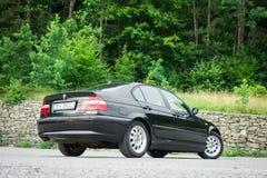 巴法力亚美丽的历史的车的黑金属paing和origi 免版税图库摄影