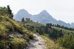 巴法力亚阿尔卑斯 库存图片
