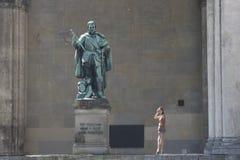 巴法力亚首都慕尼黑 库存图片
