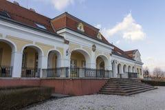 巴洛克式的城堡在Pomaz 图库摄影