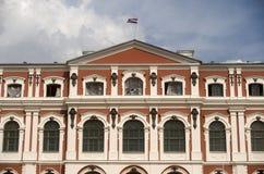巴洛克式的城堡, Jelgava,拉脱维亚 免版税图库摄影