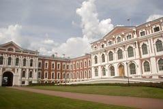 巴洛克式的城堡, Jelgava,拉脱维亚 免版税库存照片