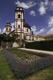 巴洛克式的城堡Jaromerice nad Rokytnou 2 免版税库存图片