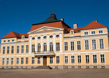 巴洛克式的宫殿波兰rogalin 库存图片