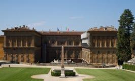 巴洛克式的宫殿palazzo pitti 库存照片