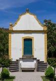 巴洛克式的庭院房子夏天 免版税库存照片