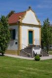 巴洛克式的庭院房子 免版税图库摄影