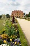 巴洛克式的庭院 免版税库存图片