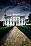 巴洛克式的新宫殿 免版税库存图片