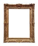 巴洛克式的框架金子 库存照片