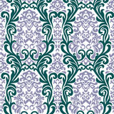 巴洛克式的装饰品 免版税库存图片