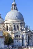 巴洛克式的17世纪教会圣玛丽亚della致敬,威尼斯,意大利 图库摄影