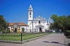 巴洛克式的basilica del nuestra毛发的senhora 免版税库存图片