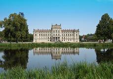 巴洛克式的ludwigslust宫殿 库存图片