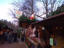 巴登市巴登市圣诞节 库存照片