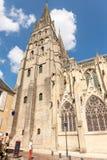 巴约或Cathedrale Notre Dame de巴约安特卫普圣母大教堂  r 免版税库存图片