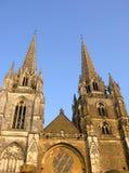 巴约讷大教堂西南的法国 免版税库存照片