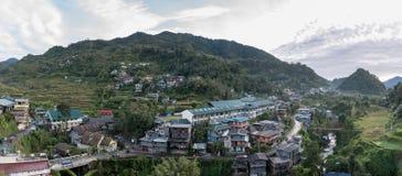 巴纳维都市风景在菲律宾 免版税库存图片