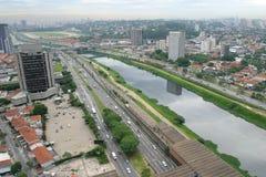 巴西保罗圣地 免版税图库摄影