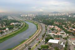 巴西保罗圣地 库存照片