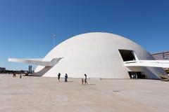 巴西利亚巴西吉马朗伊什honestino博物馆 库存照片