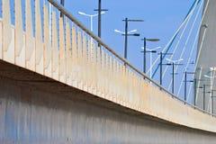 巴西利亚桥梁jk 免版税库存图片