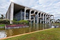 巴西利亚正义宫殿 免版税库存照片