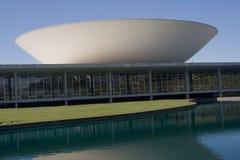 巴西国会国民 免版税图库摄影
