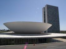 巴西国会国民 免版税库存照片