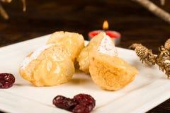 巴西圣诞节小圆面包 库存照片