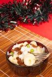 巴西圣诞节食物 免版税库存照片