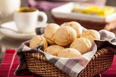 巴西干酪小圆面包 免版税库存照片