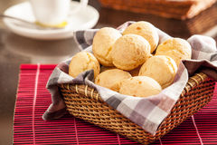 巴西干酪小圆面包 免版税图库摄影