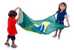 巴西年轻人 免版税库存图片