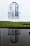 巴西旅馆反射视窗 库存图片