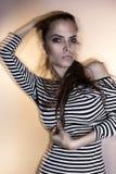巴西时装模特儿 图库摄影