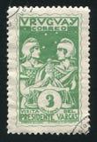 巴西正义藏品标度  免版税图库摄影