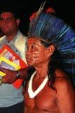 巴西的当地印地安人 免版税库存图片