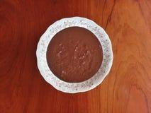 巴西糖果Brigadeiro旅长糖果-乳脂状的版本 库存照片