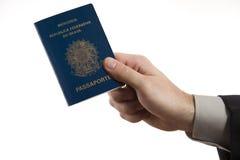 巴西藏品护照 图库摄影