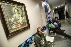 巴西-圣保洛- ONG Sermig -无家可归者的自由牙齿操作 免版税库存图片