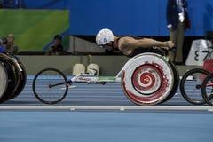 巴西-里约热内卢-残疾人奥林匹克运动会2016 1500米竞技 免版税库存照片