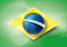 巴西! 免版税库存照片