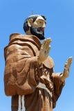 巴西caninde弗朗西斯纪念碑圣徒 免版税图库摄影