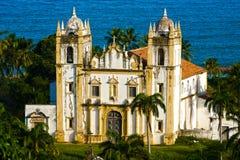 巴西carmo教会olinda recife 图库摄影