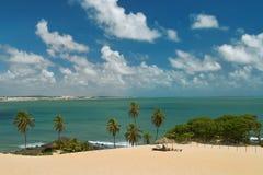 巴西genipabu 免版税库存照片