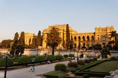巴西ipiranga宫殿保罗圣地 免版税图库摄影