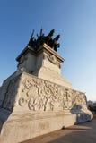 巴西ipiranga纪念碑保罗圣地 免版税库存照片